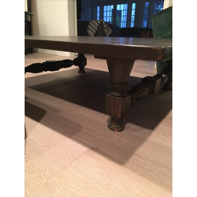 Low Spindle Leg Coffee Table - Image 6 of 6