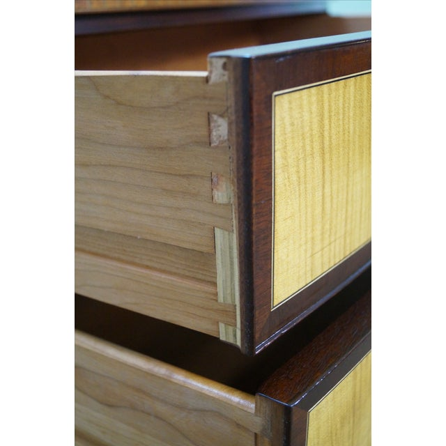 Stickley Colonial Williamsburg Mahogany Chest - Image 5 of 10