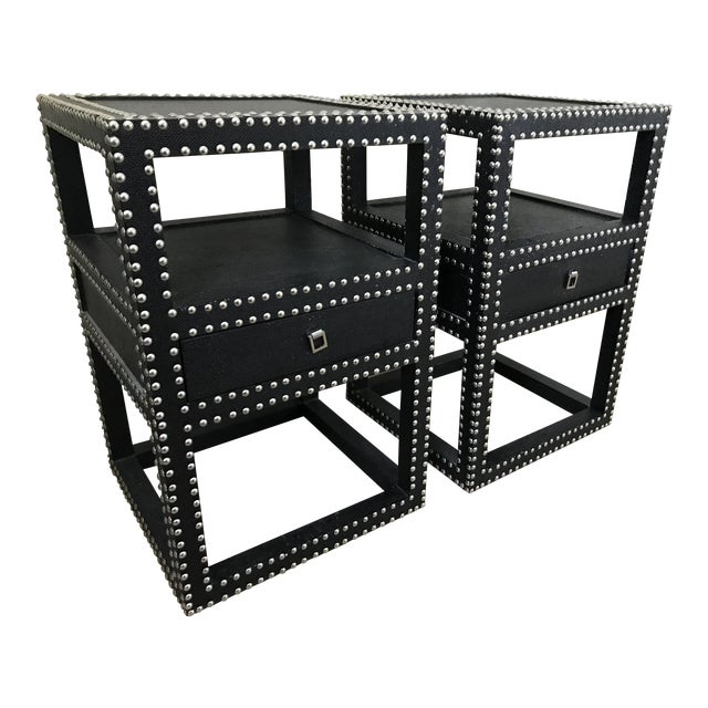 """Bungalow 5 """"Marco"""" Side Tables - A Pair For Sale"""