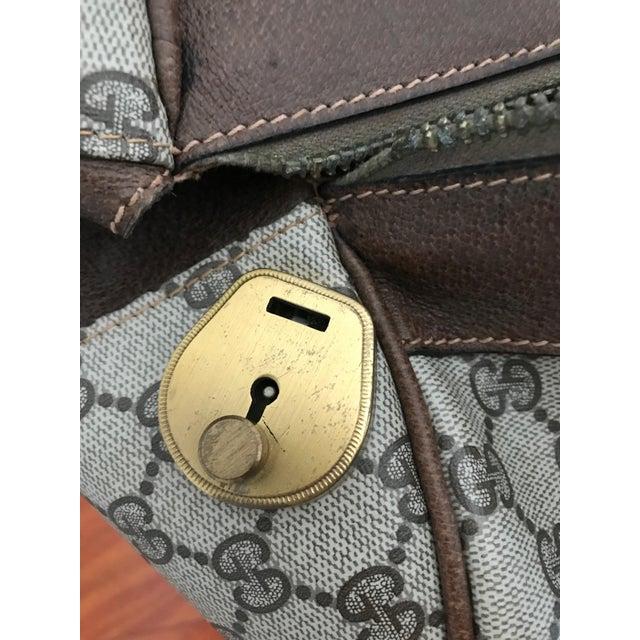 Huge Vintage Gucci Monogram Duffel Bag For Sale In New York - Image 6 of 12