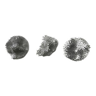 Sea Urchin Sculptural Objects - Set of 3 For Sale