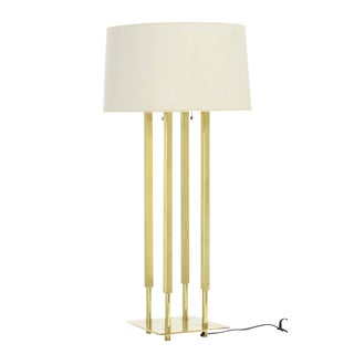 Stifle Brass Table Lamp For Sale