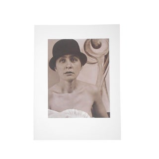 "Large Vintage Photogravure-""Georgia O'Keeffe"" by Alfred Stieglitz (Usa 1864-1946) For Sale"