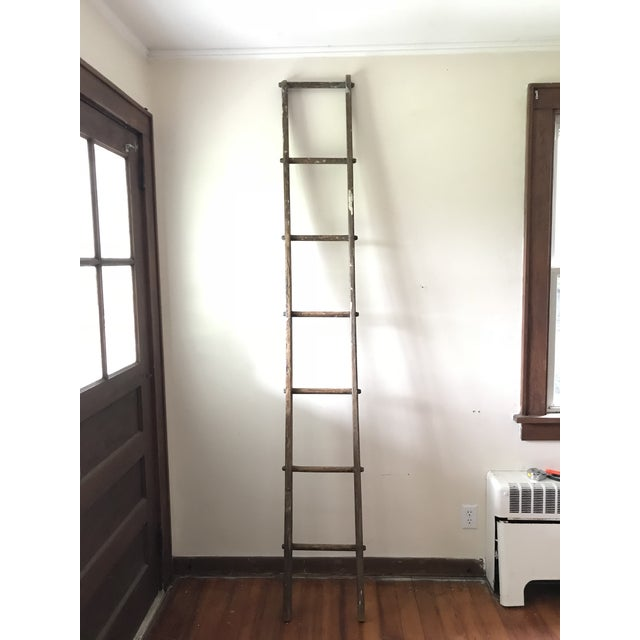 Brown 19th Century Barn Ladder From Apple Farm For Sale - Image 8 of 8