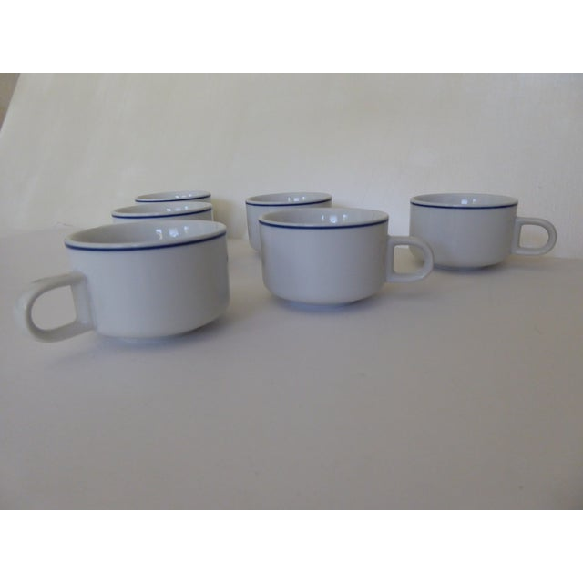 1973 American Airlines Coffee/Tea Cups - Set of 6 For Sale - Image 4 of 7