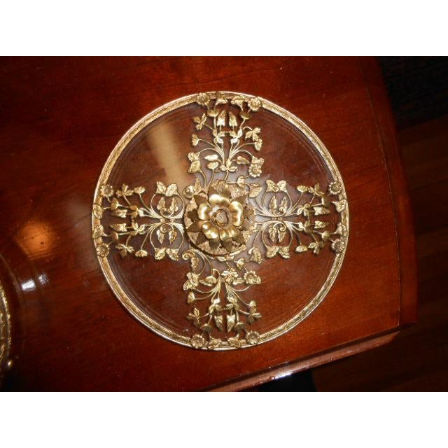 Gold Antique Gold Ormolu Divided Dish For Sale - Image 8 of 10
