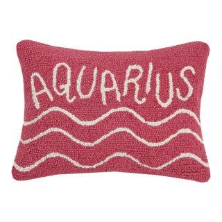 "Aquarius Hook Pillow, 12"" x 16"" For Sale"
