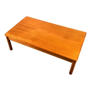 Trioh Mid-Century Danish Modern Teak Coffee Table Floating Top ~ Made in Denmark For Sale