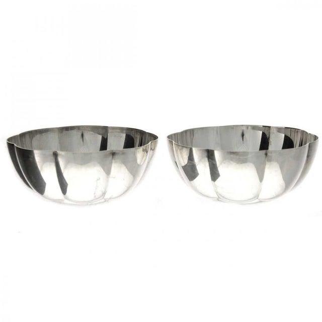 Christofle Vintage Christofle Bowls - a Pair For Sale - Image 4 of 4