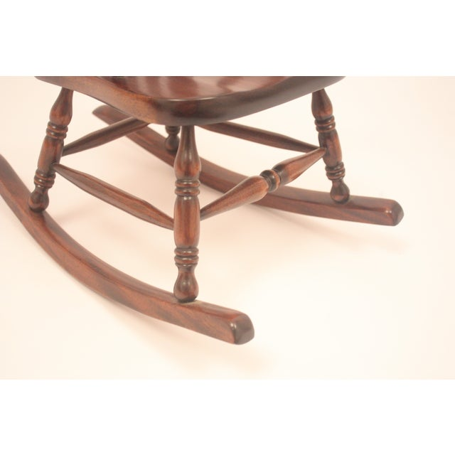 Winsor-Style Doll Rocking Chair - Image 4 of 6