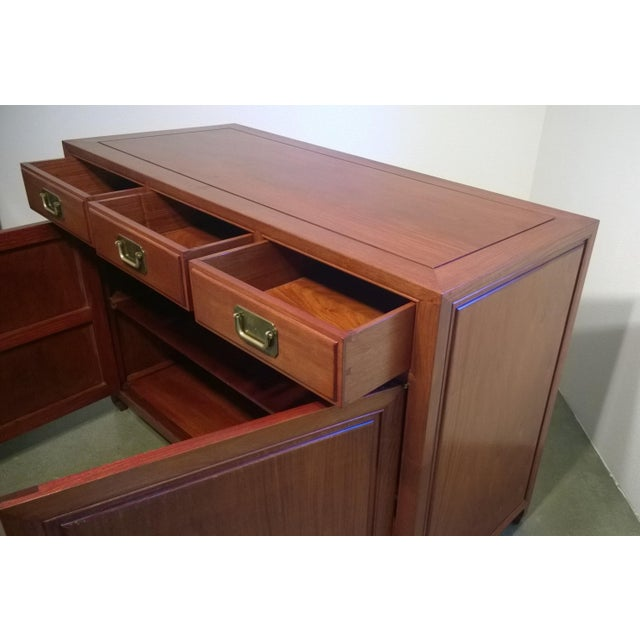 Vintage Chinese Rosewood Buffet - Image 6 of 9