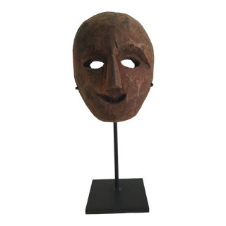 Antique Nepalese Mask For Sale