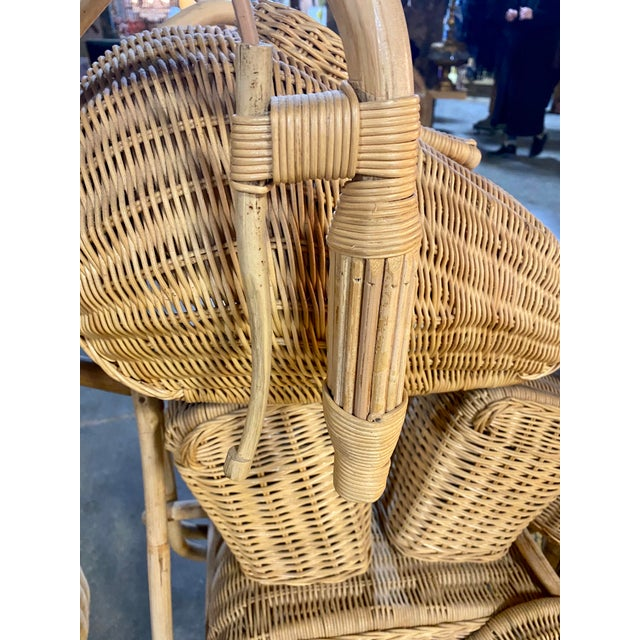 1970s Handmade Life-Size Wicker Motorcycle For Sale In New York - Image 6 of 10