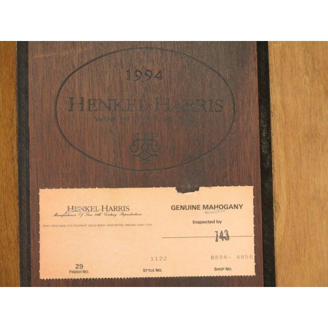 Henkel Harris Mahogany Welford Corner Cabinet - Image 11 of 11