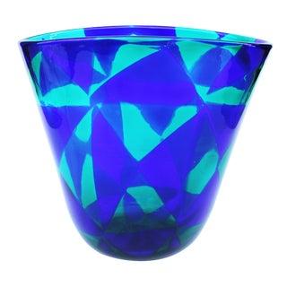 Mid-Century Modern Barovier & Toso Intarsio Vase For Sale