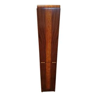 1930s Rosewood Veneer Pull-Down Dry Bar For Sale