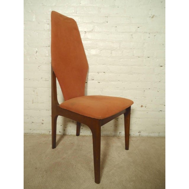 Adrian Pearsall Style Tall Back Chairs - a Pair - Image 2 of 7