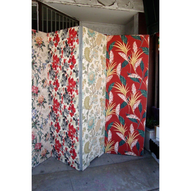 2010s Modern Patterned Room Divider For Sale - Image 5 of 12