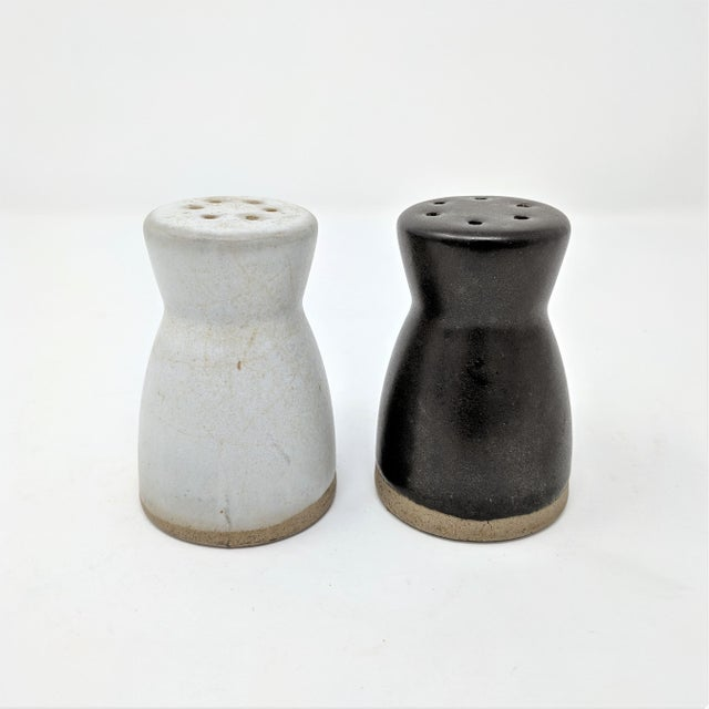Ceramic Vintage Salt and Pepper Shakers by Gordon & Jane Martz for Marshall Studios - a Pair For Sale - Image 7 of 7
