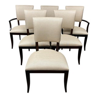 Ethan Allen Drew Dining Chairs - Set of Six For Sale