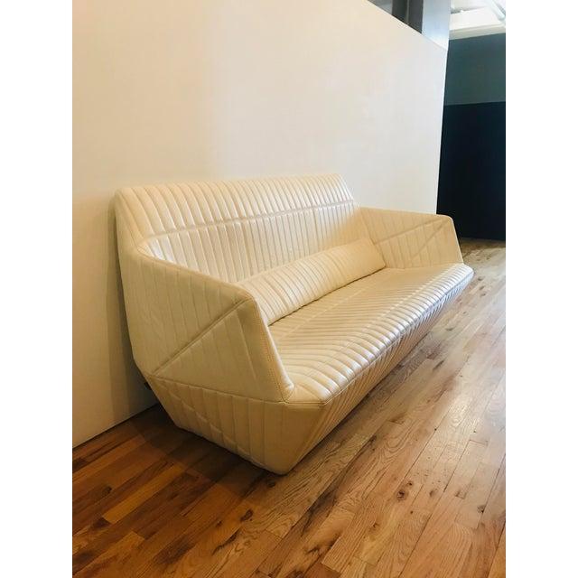 Minimalism Modern Ligne Roset Facett Sofa For Sale - Image 3 of 5