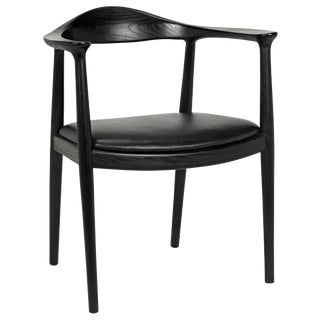 Dallas Chair, Charcoal Black For Sale