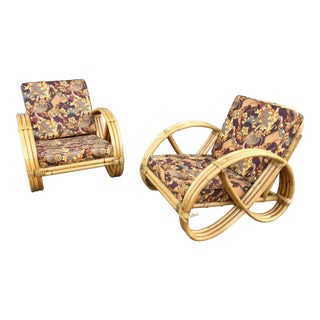 Shirley Ritts Restored Pretzel Lounge Chairs - a Pair
