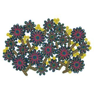 Seletti, Florigraphie Passiflora Tablemat, Alessandra Baldereschi, 2016 For Sale