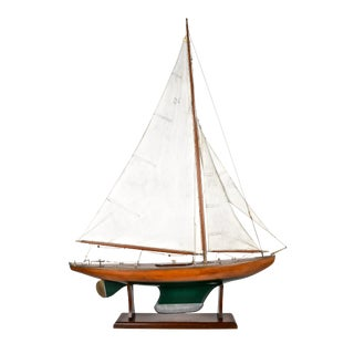 British Cutter Rig Pond Boat, 1930 For Sale