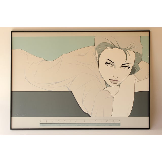 'Gray Lady' Print by Patrick Nagel - Image 2 of 4