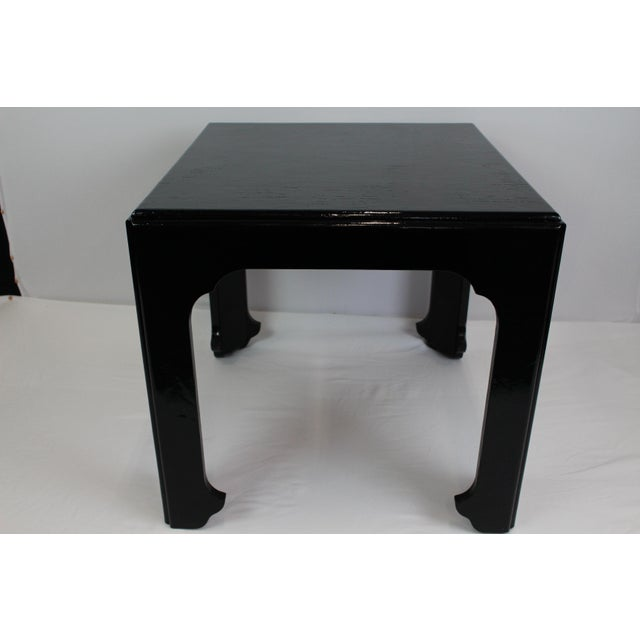 1990s Asian Antique Baker Furniture 'Far East Collection' Side Table For Sale In Portland, ME - Image 6 of 7
