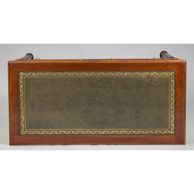 Late Regency Mahogany Small Writing Table, Circa 1830 For Sale - Image 9 of 11