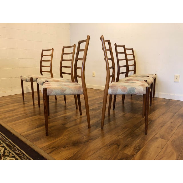 Rosewood Mid Century Armchairs by Torbjorn Afdal for Vamo Sonderborg -A Pair For Sale - Image 11 of 13