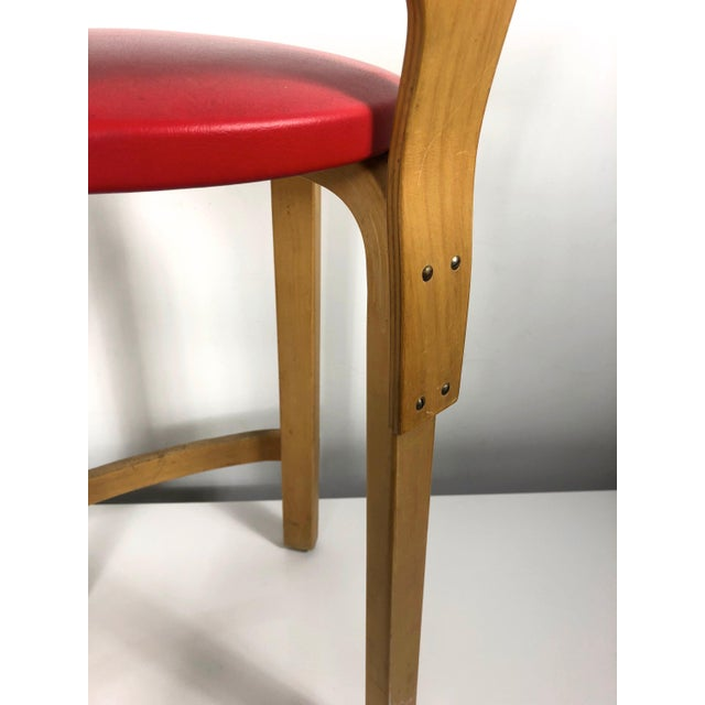 Alvar Aalto by Artek K65 Highback Chair Finland 1940's For Sale - Image 9 of 11