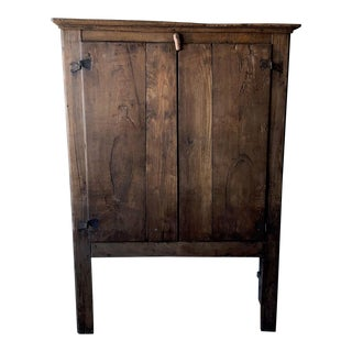 "Rustic Italian Antique Cabinet- 66""h For Sale"