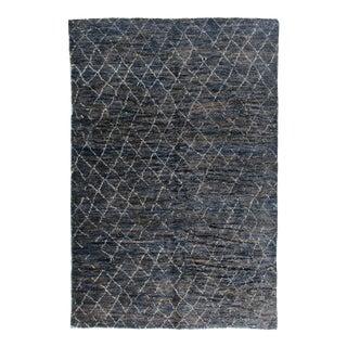 "Stark Studio Rugs Kitto Rug in Navy Blue/White, 8'0"" x 10'0"" For Sale"