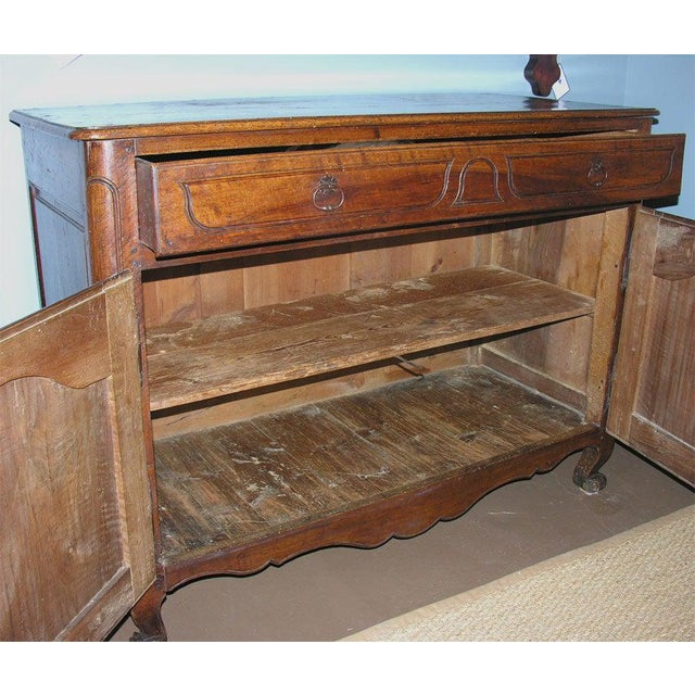 French Walnut Buffet For Sale - Image 10 of 11