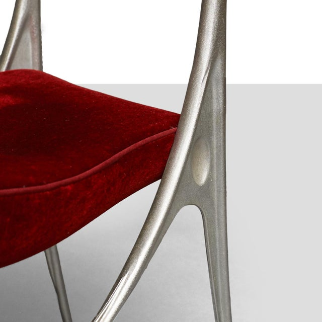 "Oscar Tusquets ""Lucas"" dining chairs for Driade - Image 6 of 8"