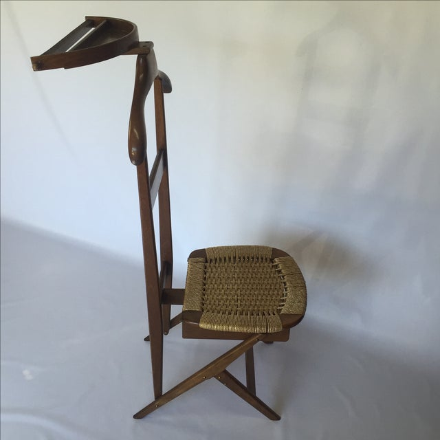 Danish Modern Danish Style Valet Chair For Sale - Image 3 of 5