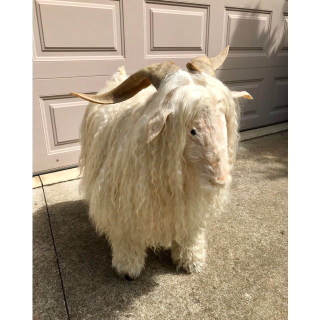 White 1960s Vintage Claude Lalanne Style Figural Sheep Sculpture / Stool For Sale - Image 8 of 10