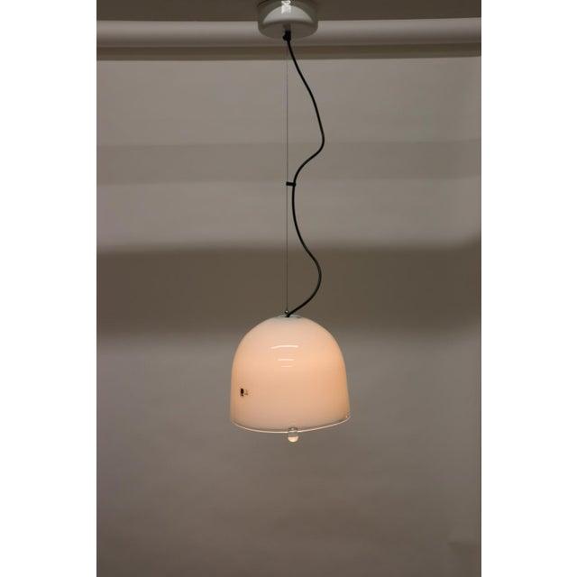 Mid-Century Modern Mid-Century Modern Murano Glass Pendant Lamp For Sale - Image 3 of 13