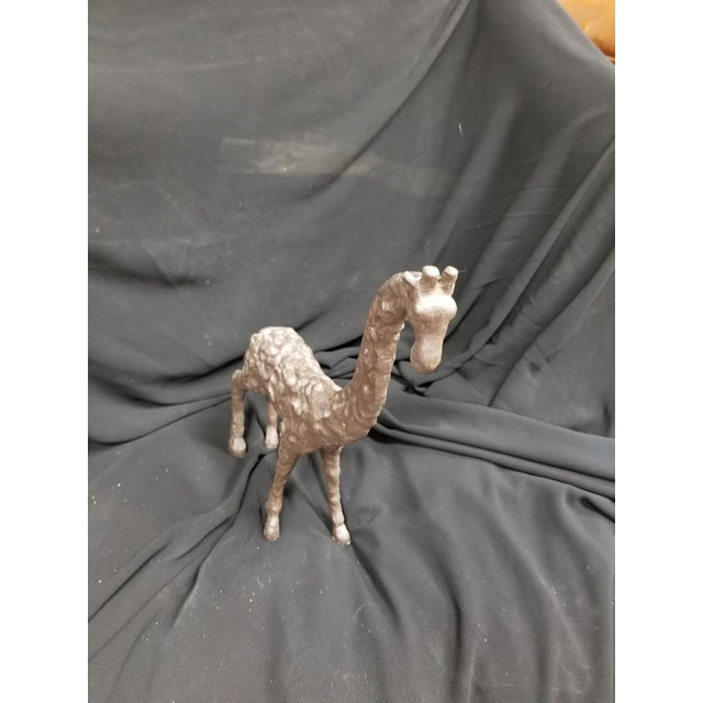 Iron, Giraffe, interesting texture to replicate clay.