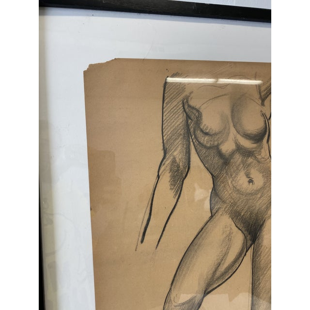 Female Nude Figurative Drawing For Sale In Washington DC - Image 6 of 7