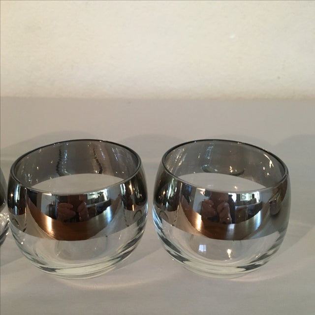 Mercury Band Dbl Shot Roly Poly Glasses - Set of 4 - Image 4 of 5