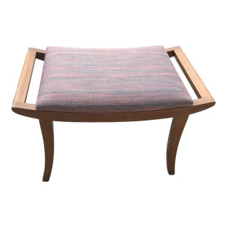 Vintage Mid Century Hans Wegner Style Bench For Sale