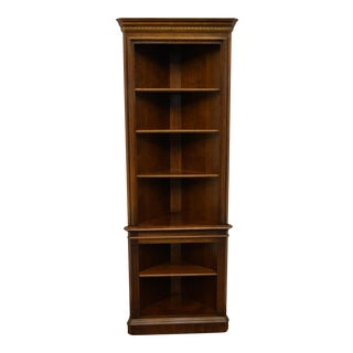Pennsylvania House Cherry Traditional Corner Bookcase For Sale