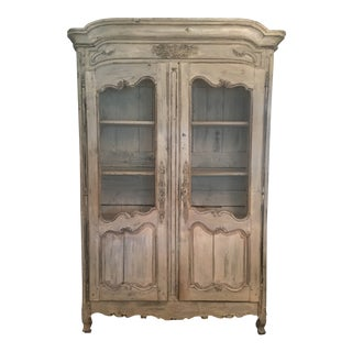18th Century French Country Armoire For Sale