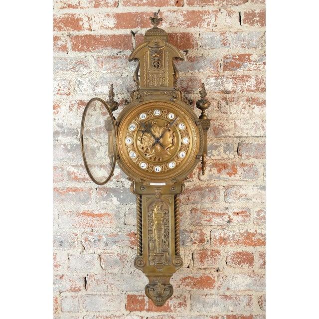 19th Century Creusy Paris Bronze French Clock - Image 3 of 10