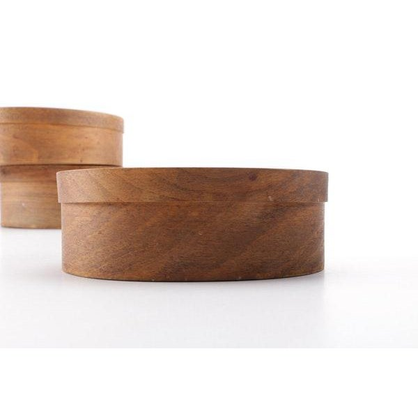 Early 21st Century Wooden Nesting Shaker Style Storage Boxes - Set of 4 For Sale - Image 5 of 8