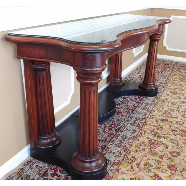 Ralph Lauren Home Collection Mahogany Console - Image 6 of 6